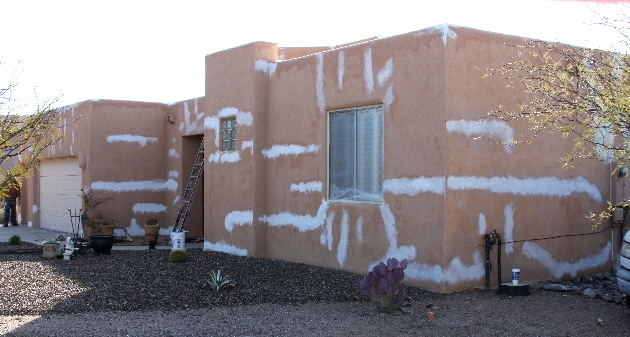 patch stucco easy