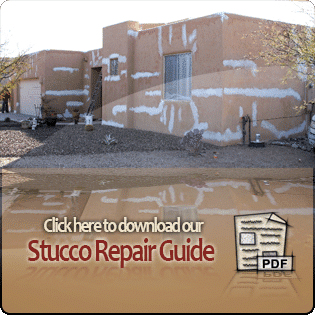 Click here to download our Stucco Repair Guide