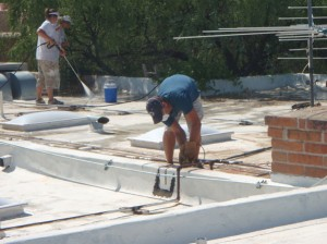 AA Brite 24/7 Flat Roof Recoat with Repair
