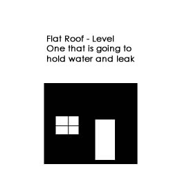 flat roof with no elevation